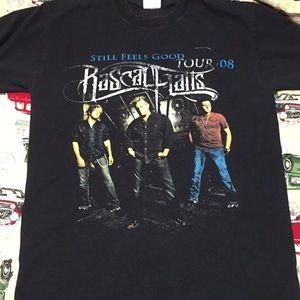 Rascal Flats 2008 tour tee shirt
